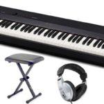 Das Casio PX-160 ist mit 60 eingebauten Liedern ausgerüstet